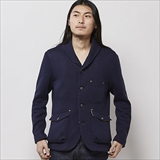 [イーツ]Woolen Showl Coller JKT