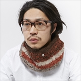 [シェルパ]ALPACA YARN NECK WARMER