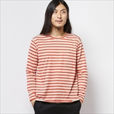 [ルールズピープス]24 Cotton Border Long Tee