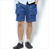 [シムススケートスタイル]SSS x NATAL DESIGN Denim Sweat Shorts