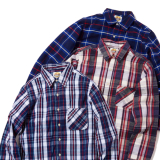 [クラスファイブ]Suoer Heavy Check Shirts