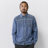 [チャムス]Forest Chambray Shirt