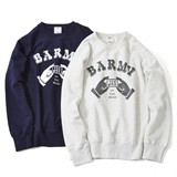 "[コモンエデュケーション×ゴーアウト]12oz REVERSE WEAVE CREW NECK SWEAT ""BARMY ON THE ROAD"""