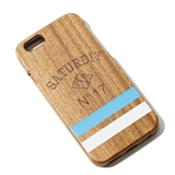 [サタデイ]Wooden iPhone Case for iPhone5/5s