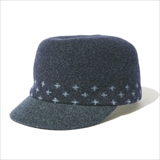 [フィクチュール]Swiss Cross Basque Work Cap