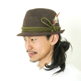 [フィクチュール:ficouture]Tirolian Thermo Hat