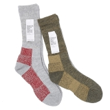 [フィクチュール]DRALON PILE MIX SOCKS