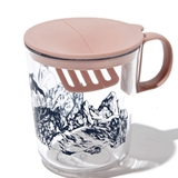 [フリッジ×フェイス]ORIGINAL teeta tea mug(nvy print)