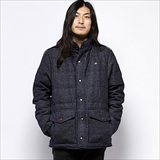 [ゴーヘンプ]SKY WAVE JACKET/INDIGO TWEED DENIM