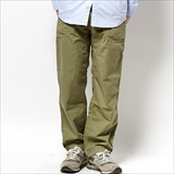 [ゴーヘンプ]VENDOR BASIC PANTS/ H/C BACK SATIN SULFIDE DYE