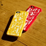 [ファッジ×ゴーアウト]GO OUT CASE YELLOW for iPhone 6/6s