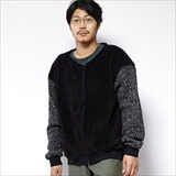 [ゴーウエスト]LOOSE MAO ZIP/SHEEP BOA FLEECE