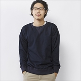 [ゴーウエスト]DROP SHOULDER CREW NECK