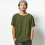 [ゴーウエスト]LOOSE S/SL TEE w/Pocket