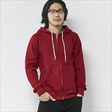 [ジムマスター]sweat raglan full zip hooded