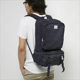 [ジムマスター]Metal-buckle Sweat Square Backpack