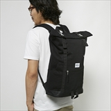 [ジムマスター]Metal-buckle Sweat Rolltop Backpack