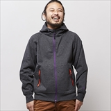 [ジムマスター]Wind Break Sweat Fullzip Hooded