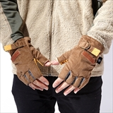[ジムマスター]Corduroy Gloves (Fingerless)