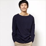[ジムマスター]MIDDLEWEIGHT COTTON BOAT NECK