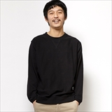 [ジムマスター]MIDDLEWEIGHT COTTON CREW NECK