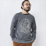 [ハオミン]STAR BIRD CREW NECK