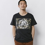 [ハオミン]BEAR HUG MILITARY Tshirt