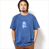 [ハオミン]INDIGO PATCH TSHIRT