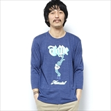 [ハオミン]TOPE 3/4 Long Sleeve Tshirt