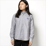 [ハオミン]RUMBLE OX SHIRT
