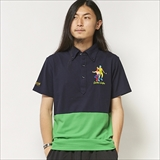 "[ハオミン]""HAOMING GOLF""MASK MAN POLO"