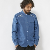 [アイリーライフ]SEEK & FIND DENIM SHIRT