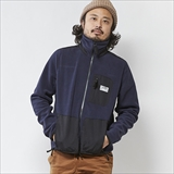 [アイリーライフ]HIGH NECK FLEECE JACKET