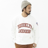 [マジェスティック]BROOKLYN DODGERS CREW SWEAT