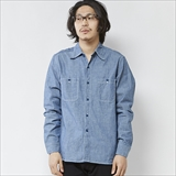 [エムブイピー]CHAMBRAY SHIRT U.S NAVY