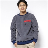 [エムブイピー]x MANASTASH CREW NECK FLEECE