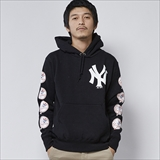 [マジェスティック]x MAJESTIC NY YANKEES SWEAT PARKA