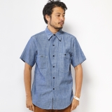[エムブイピー]M.V.P. x BIG YANK CHAMBRAY SHIRTS TYPE1