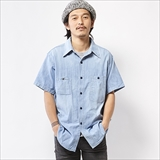 [エムブイピー]M.V.P. x BIG YANK CHAMBRAY SHIRTS TYPE2