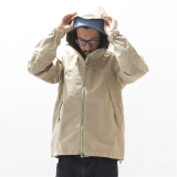 "[ナチュラルバイシクル]Nylon Mountain Parka ""Refrecter"""