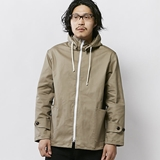[パインコーン]STRETCHE HOODED JACKET