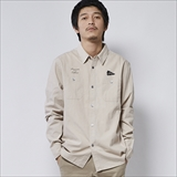[ポーラ]YAKOW LONG SLEEVE BUTTON UP