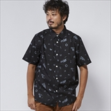 [ポーラ]WHEELIE SHORT SLEEVE BUTTON UP