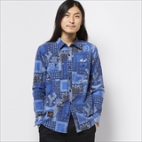 [ローター]Paisley pattern Work shirt