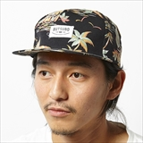 [ルツボ]TROPICAL STRAPBACK CAP