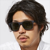 [ダンシェイズ]LOCO Black Soft x Dark Green Gray Polarized lens