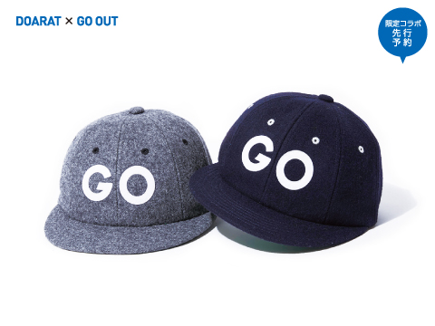 DOARAT×GO OUT「BB CAP」