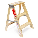 "Wood Step Ladder""Size 2"""